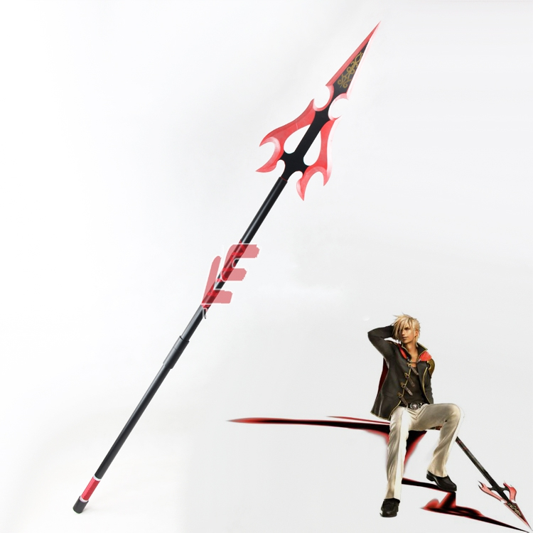 Final Fantasy Nine Lance PVC Cosplay Props Home Art Decoration Halloween Party Cosplay WeaponsCostume Props   -