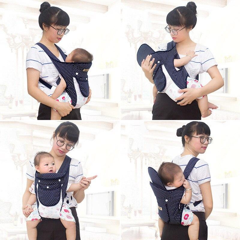 Baby Carrier Baby Sling Shoulder Strap Maternal Child Supplies Mochila Porta Bebe Ergonomica Kangaroo Gear Fular Bebe Portabebe