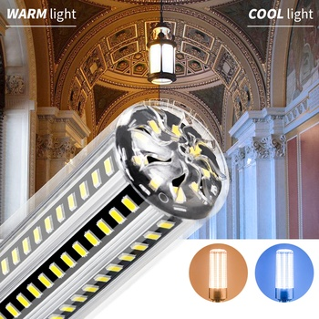 WENNI E27 Led Bulb 25W 35W 50W Corn Light E26 Lamp 220V Indoor Workshop 110V Ampul 5730 For Factory Lighting
