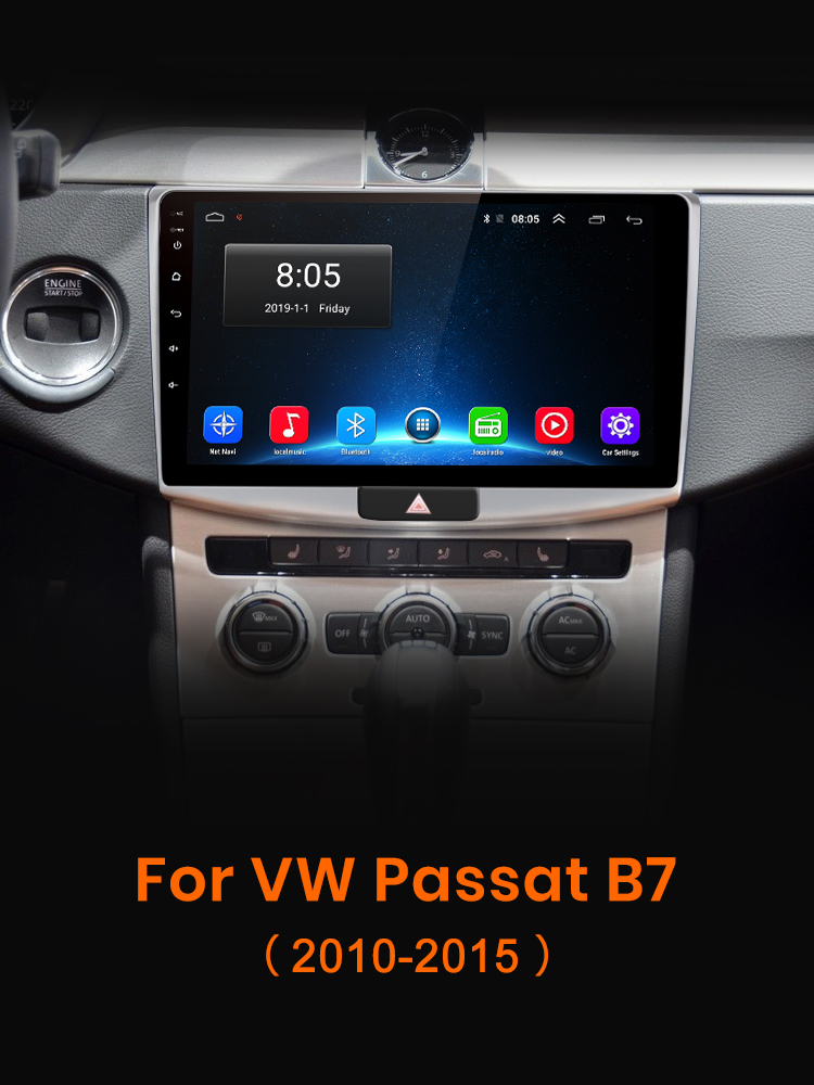 AWESAFE PX9 for VW for Volkswagen Passat B7 2010-2015 Car Radio Multimedia video player