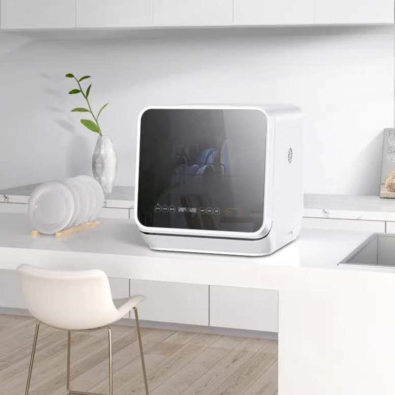 Dishwasher Tabletop Fully Automatic Intelligent Free Installation Sterilization Brush Bowl Machine