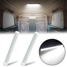 Тройной Ряд светодиодный светильник бар Замена Авто Рабочий светильник 12V белый аксессуары для ванной комнаты