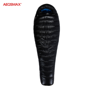 AEGISMAX G Outdoor Camping -22℉~-10℉ Sleeping Bag Winter 95% Goose Down FP800 Warm 15D Nylon Waterproof Sleeping Bag Comfort 1