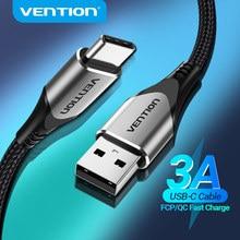 Câble de prise en charge USB de Type C pour Samsung S10 S9 3A chargeur USB rapide câble de prise en charge USB C pour Xiaomi Huawei type-c câble Cabo