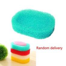 Candy colro губка мыльница тарелка ванная комната комплект мыльница