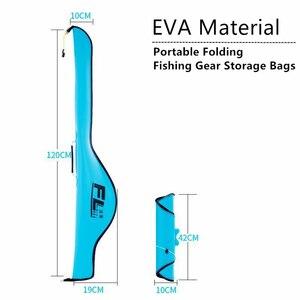 Image 3 - 1,2 м портативные сумки для удочек из ЭВА, складная переноска, сумка для хранения удочки, чехол, посылка для рыбалки, сумка для колес