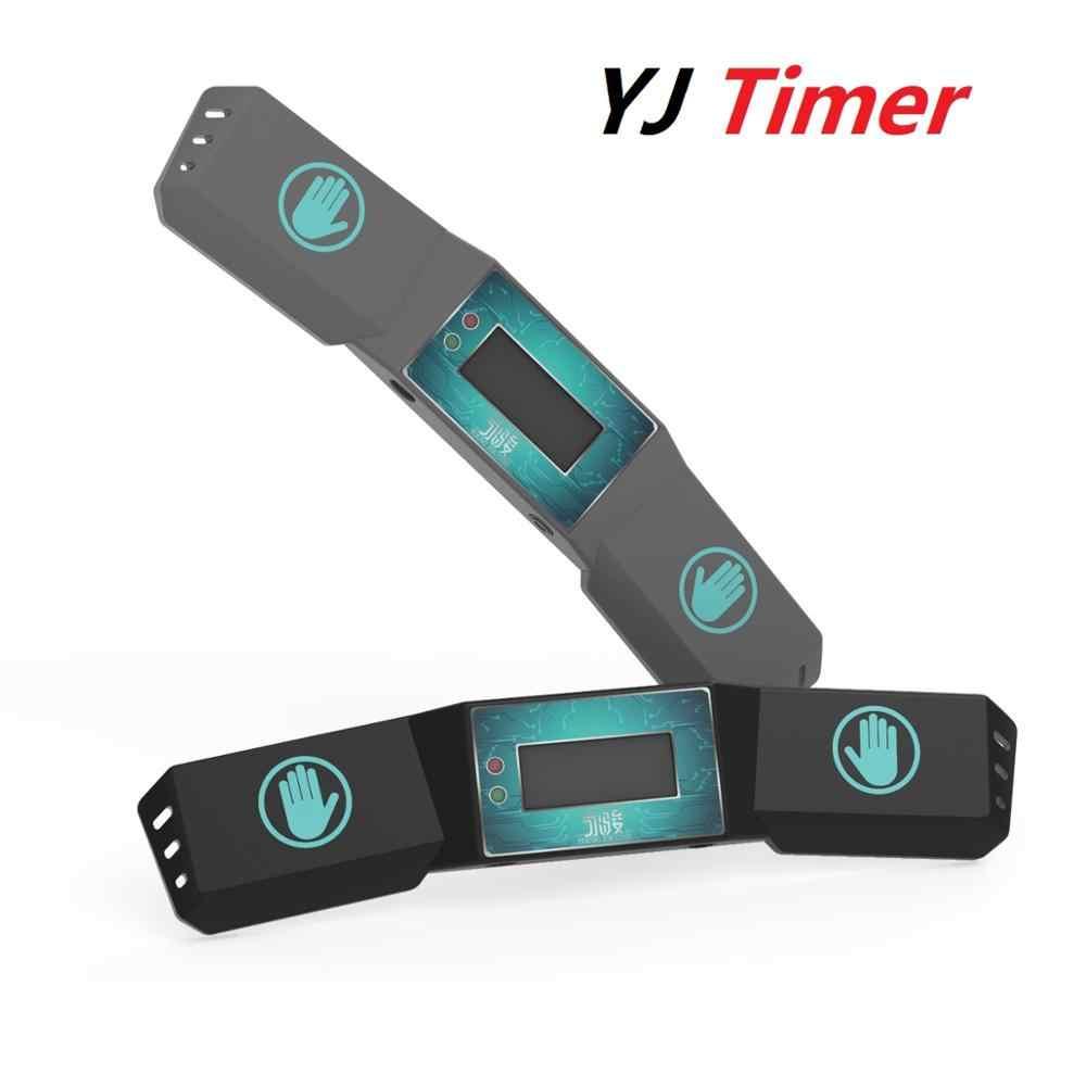 Таймер YongJun для скоростного кубика, таймер для соревнований с магическим кубиком, таймер Cubing race YJ, портативный инновационный инфракрасный датчик