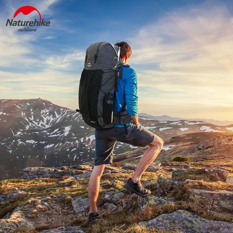 NatureHike 2020 New Outdoor Climbing Bag Large Capacity Travel Camping Hiking Backpack 60+5L Lightweight Trekking Backpack
