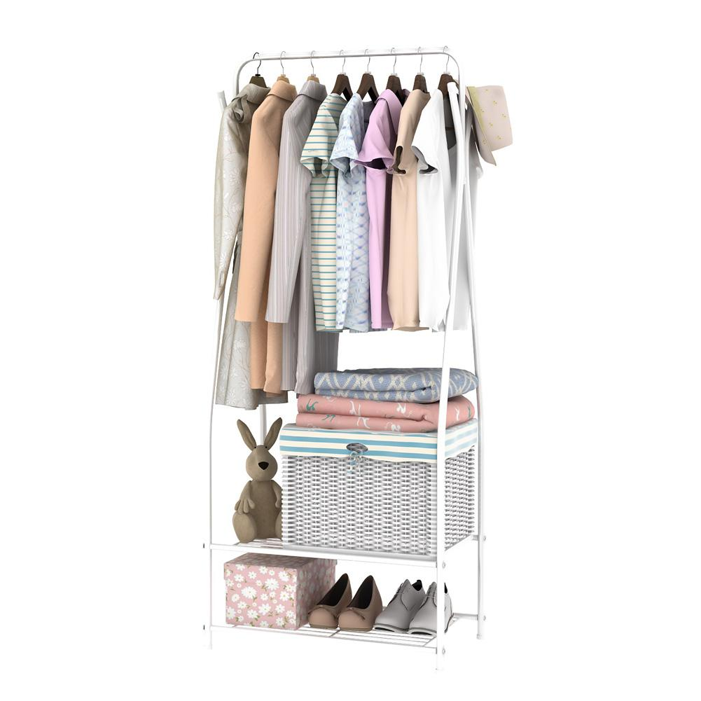 High quality Multi-function Drying Rack Metal Display Stand for Clothing Hat Storage for Home products storage