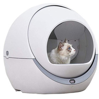 Automatic Cat Litter Box Smart Litter Tray Toilet Quick Cleaning Deodorant Splash Proof Safe Enclosed Electric Litter Box