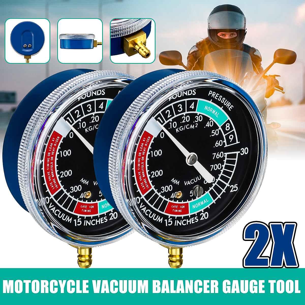 Synchroniseur universel d'équilibrage de jauge de vide de carburateur de moto pour Yamaha/Honda/Suzuki