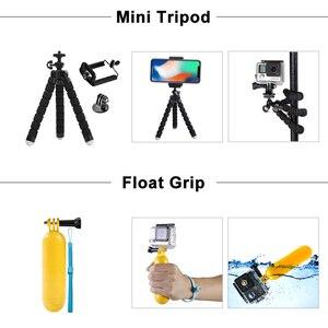 Набор аксессуаров ORBMART для GoPro для Go Pro Hero 8 7 6 5 4 черное крепление для Xiaomi Yi 4k Mijia чехол для экшн-камеры Sjcam