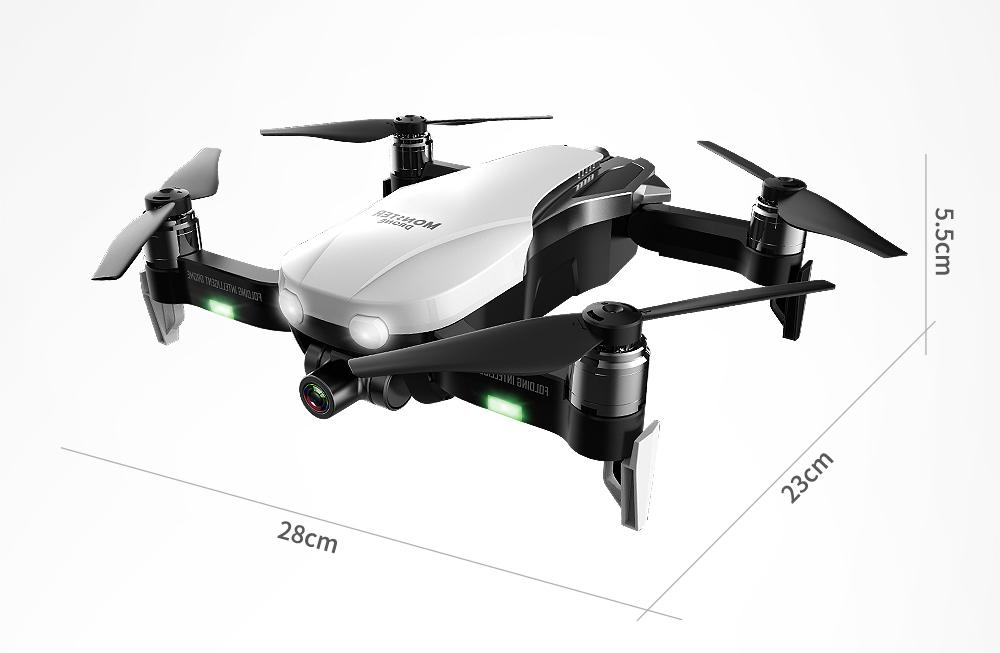 F8 Profissional FPV Vision 4K HD Camera Drone with Two-Axis Anti-Shake and GPS 38