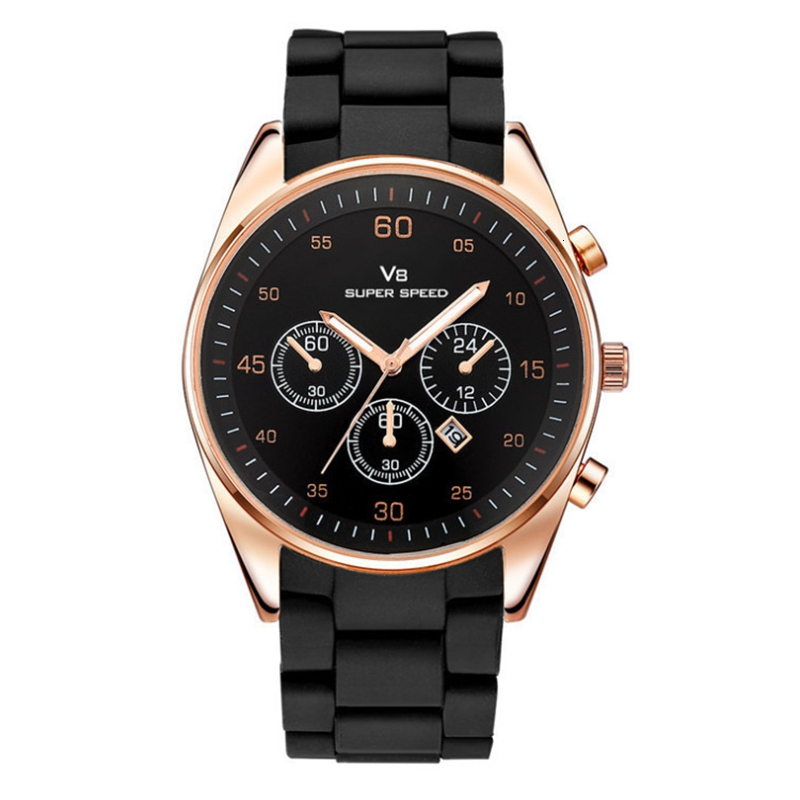 2019 Quartz Watch Men Military Watches Sport Wristwatch Silicone Fashion Hours Wristwatches Watches Relogios Masculino Clock