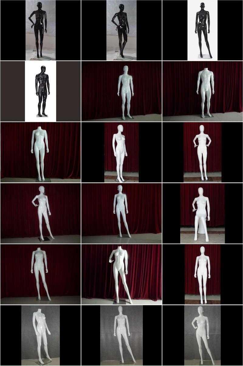 塑料黑白模特系列_800