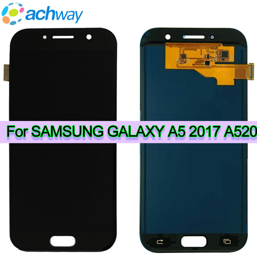 GALAXY A520 A520F SM-A520F Display Touch Screen Digitizer Assembly
