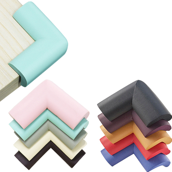 8Pcs/lot 55*55mm Children Protection Corner Soft Table Desk Safety Baby Edge Guards - discount item  29% OFF Safety