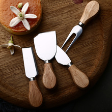 Slicer Knife-Sets Cheese-Cutter Cooking-Accessories Wood-Handle Kitchen-Cheedse Bamboo