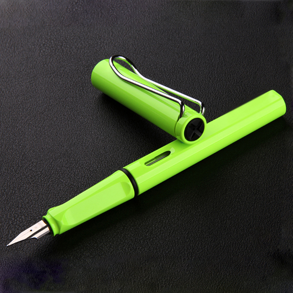 Fashion Popular Plastic Colorful Classic Business Gift Fountain Pen