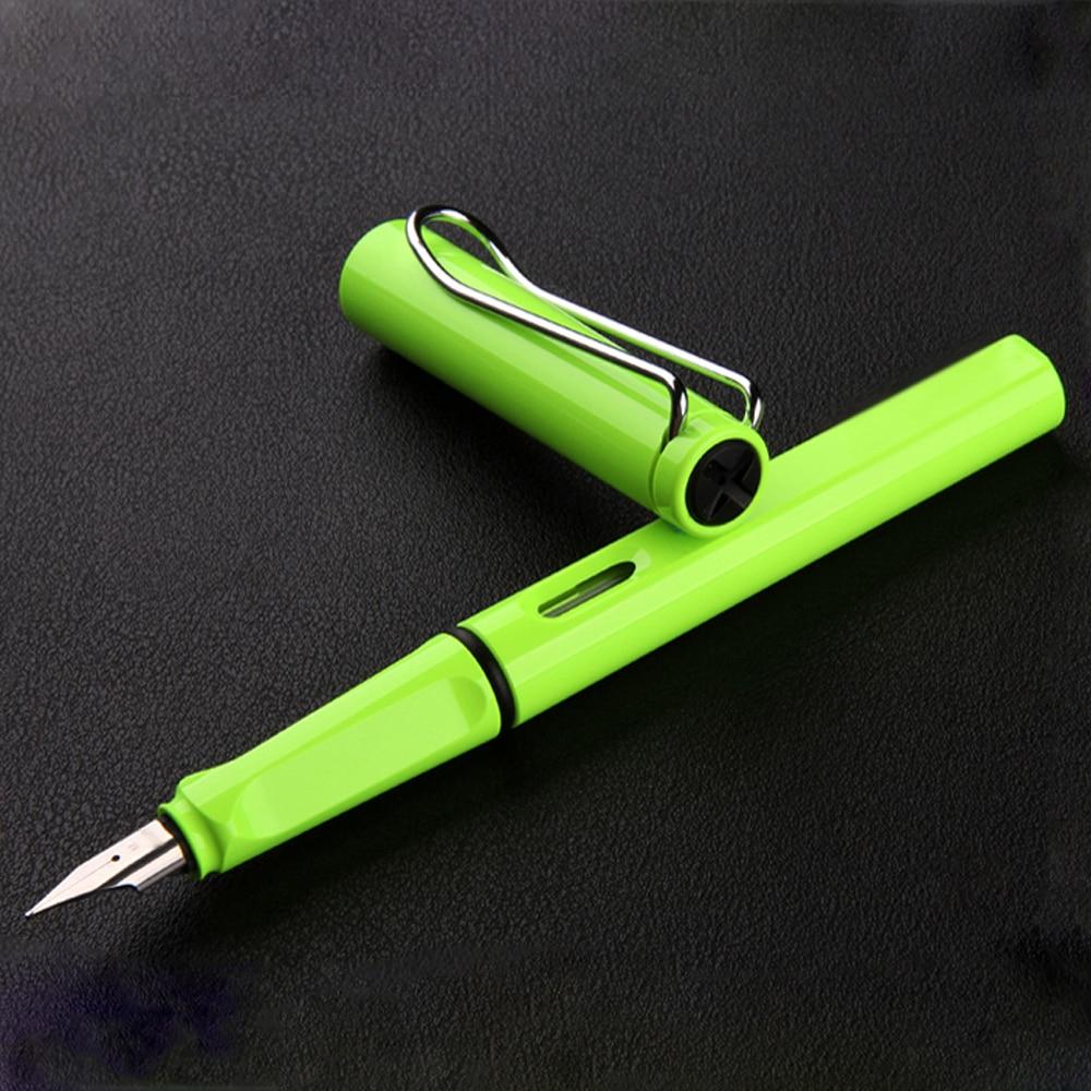 Fashion Popular Plastic Colorful Classic Business Gift Fountain Pen