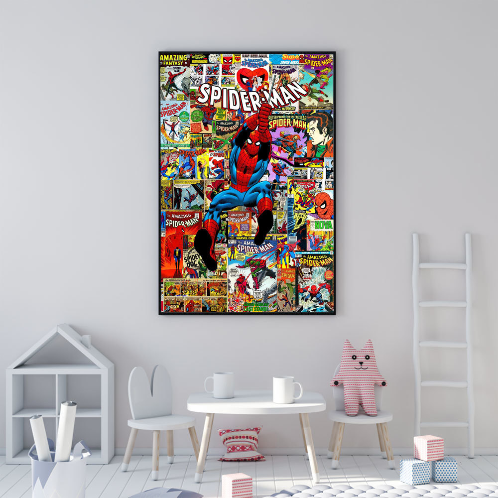 The Amazing Spiderman Giant Wall Art Poster Print