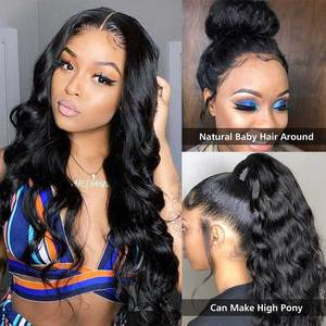 Image 3 - 13x4 Lace Front Human Hair Wigs Brazilian Body Wave Lace Wig With Baby Hair Glueless Beaudiva Remy Human Hair Lace Closure Wigs