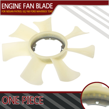 New 1set Engine Cooling Fan Blade For Nissan Patrol GQ 1988-1997 GU 1998-1999 for Ford Maverick DA TD42 4.2L1988-1994 2106006J01