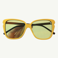 Vintage Cat Eye Sunglasses Women With Luxury Brand Big Sun Glasses Frame Female Shades With Box