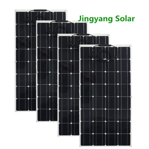 Image 3 - 200W Solar Panel equal 2pcs of 100W panel solar Monocrystalline solar cell 12v solar battery charger for RV home boat 200w 300w