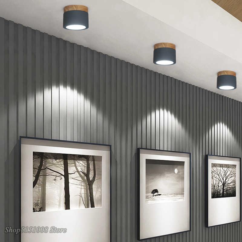 北欧廊下ダウンライト天井シャンデリアウッドベースシャンデリア照明現代光沢ロフトランプ楽屋 led シャンデリア