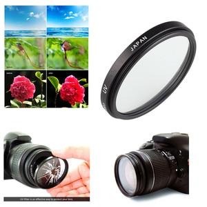 Image 3 - 49Mm Uv Filter EW 53 Zonnekap Voor Canon Eos M5 M6 M10 M50 M100 Met EF M 15 45mm F/3.5 6.3 Is Stm Lens