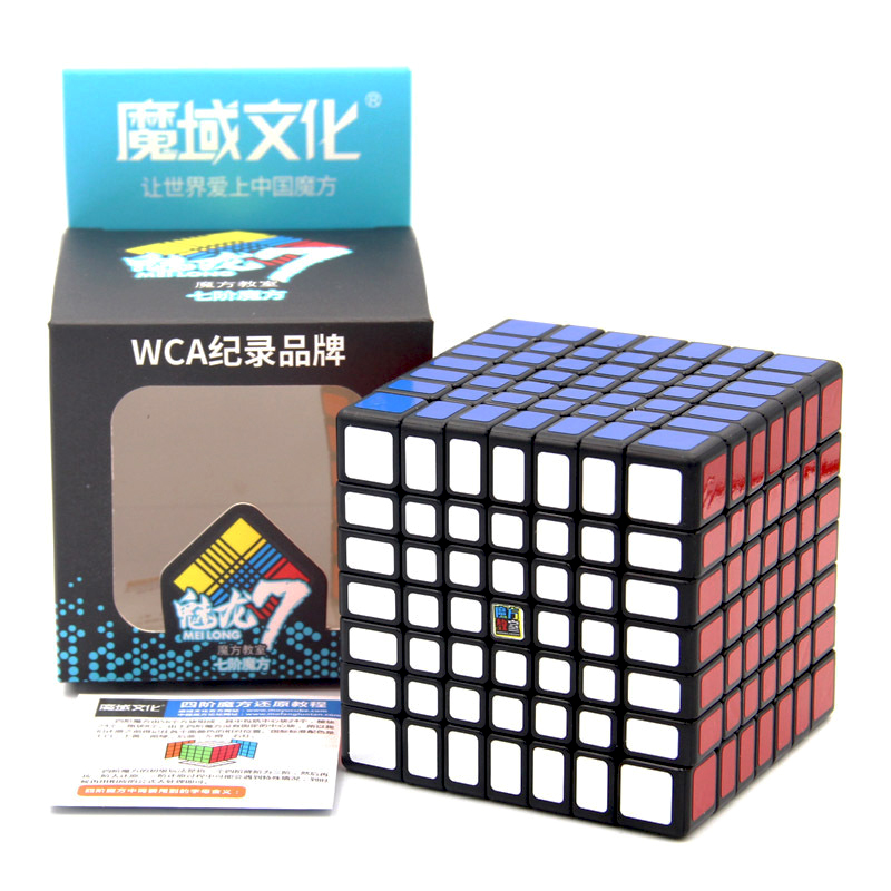 Image 5 - Moyu Classroom MF7 7x7 Cube Magic Cube 7Layer Cube Professional Speed Puzzle Cubes 7x7x7 Educational Toys For Children Kids Gift-in Magic Cubes from Toys & Hobbies