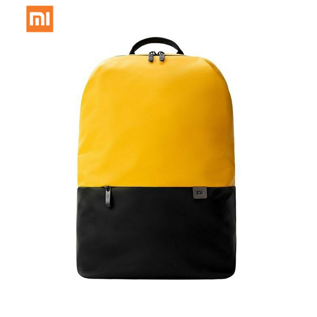 Original Xiaomi Simple Casual Bag Large Capacity Mi Backpacks Lightweight Waterproof Laptop Backpack Multi-function Travel Bag image