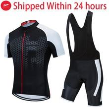HOT TELEYI Cycling Clothing Bike jersey Quick Dry Mens Bicycle clothing summer team Cycling Jersey men cycling set