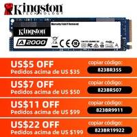 Kingston-disco duro interno de estado sólido para PC y Notebook, disco duro SFF A2000 NVMe M.2 2280 SATA SSD 120GB 240GB 480GB 960GB