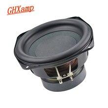 Ghxamp 5.5 / 6 polegada puro subwoofer woofer alto falantes borda de borracha 30 núcleo baixo potes 4ohm 60w 120w 1 pçs