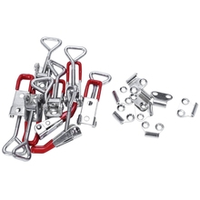 Toggle-Clamp Holding-Capacity Quick-Release Heavy-Duty Hand-Tool Latch-Type Metal 4001