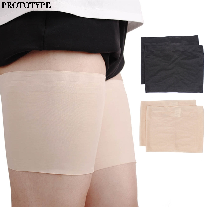 Leg Warmer Women Slimmer Band High Elastic Silica Gel Anti-friction Protection Warmers Plus Size Sexy Thigh Bands Leg Womens