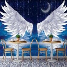 Фотофон для студийной фотосъемки с крыльями ангелом светильник
