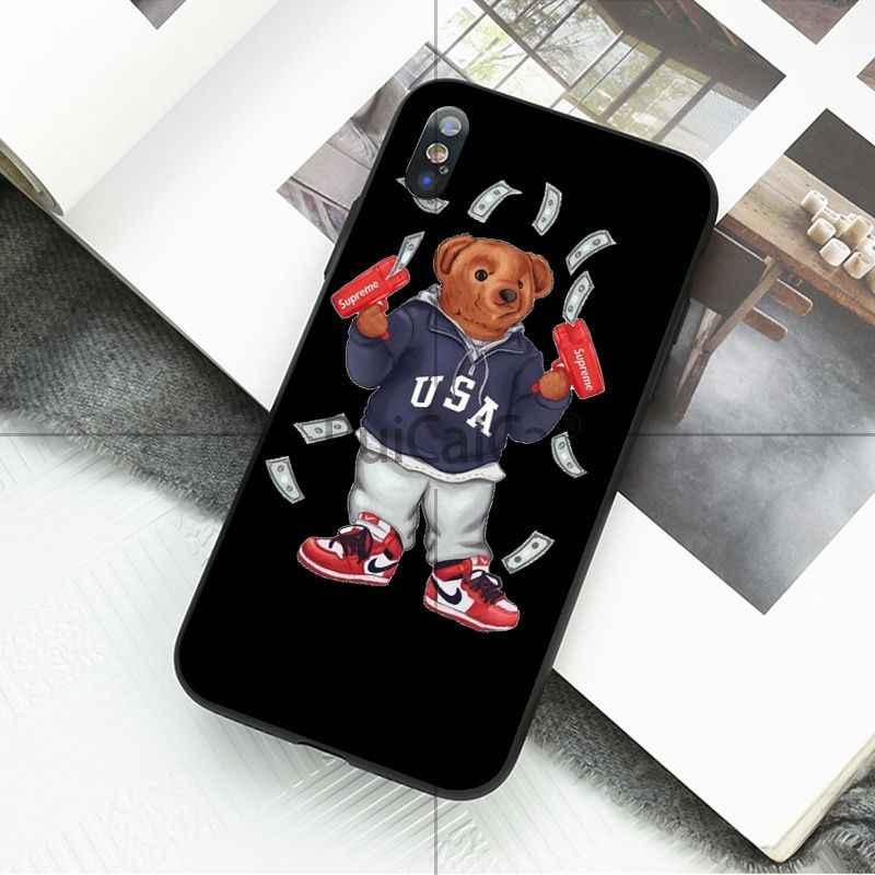 Ruicaica mode bär Cartoon suprem Fundas Kunden Qualität Telefon Fall für iPhone X XS MAX 6 6s 7 7plus 8 8Plus 5 5S SE XR