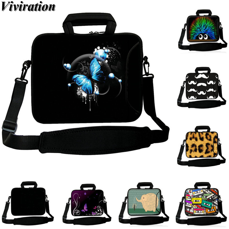 Fashion Women Messenger Handbag Sleeve Chromebook Case For Chuwi Hi12 HP Acer Aspire Ultrabook <font><b>Laptop</b></font> 10 11.6 12 13 15 14 17 <font><b>Bag</b></font> image