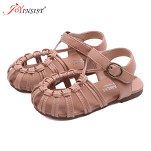 Летние модные римские сапоги; сандалии с высоким берцем для девочек; детские сандалии-гладиаторы; детские сандалии для малышей; обувь высокого качества для девочек