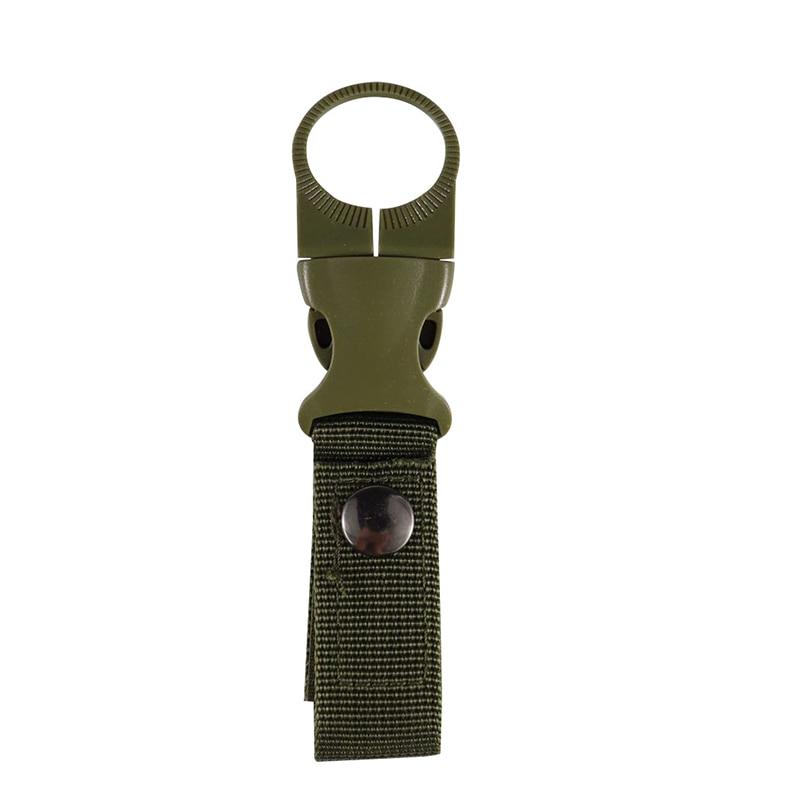 Water Bottle Holder Multifunctional Carabiner Hanger Clip Carrier Outdoor Sports Waist Belt Backpack Strap Keychain Tool