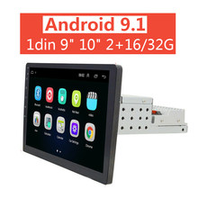 2 + 16/32G 1din Android 9.1 Mobil Central Multimidia 9/10. 1 Inci Auto Radio 1 Din Autoradio GPS FM USB Mobil Stereo Universal(China)