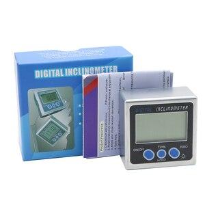 Image 5 - Mini elektronische digitale winkelmesser digitale winkel finder magnetische basis neigungsmesser winkel werkzeug mess werkzeuge