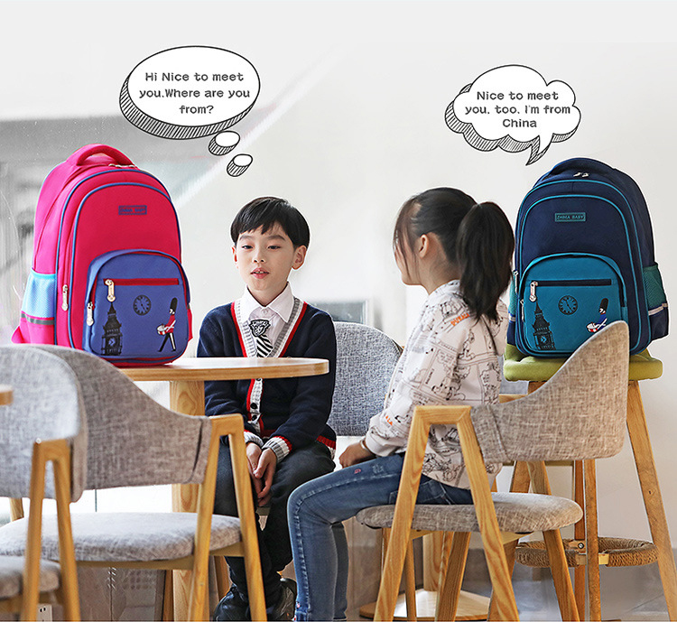 mochilas ortopédicas à prova dwaterproof água mochila escolar grau 1-3-5