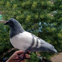 1 шт. большой искусственный голубь домашний сад имитирует пластиковый голубь модель искусственное изображение птицы вечерние Декор