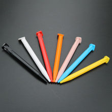 1 pièces stylet en plastique Console de jeu écran tactile ensemble de stylos pour nouveau 2DS XL / LL Lapiz Tactil jeu Console accessoire