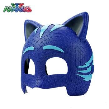 Pj Masks Toys Catboy Dolls Mask Model Pj Mask Three Colors Catboy Owlette Gekko Outdoor Toy Anime Figures Toys for Children фото