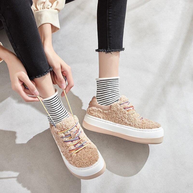 1956.15руб. 28% СКИДКА|Женская обувь; теплые бархатные зимние кроссовки на меху; Вулканизированная обувь; женская зимняя обувь; chaussures femme; Повседневная обувь; N10 72|Кроссовки и кеды| |  - AliExpress